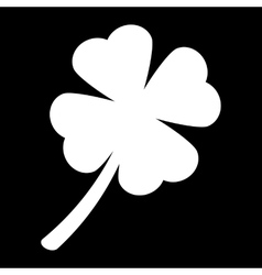 Clover leaf icon vector