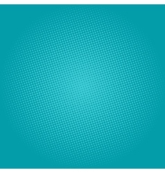 Dots on green background pop art background vector