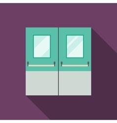 Double Doors vector image vector image