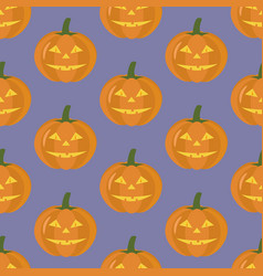 Jack-o-lantern pumpkin halloween vector