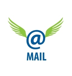 Logo mail vector