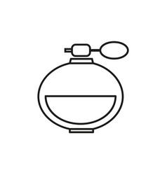 perfume online icon vector image