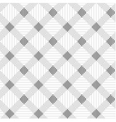 Striped geometric pattern - seamless vector