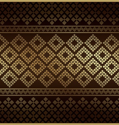Thai Pattern Vintage vector image vector image