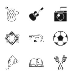 Computer accessories headphones computer parts vector