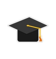 Graduation cap icon graduation and education vector