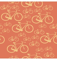 Pattern bike vector image