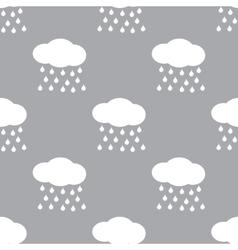 Rain seamless pattern vector