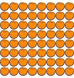 Seamless orange vector image vector image