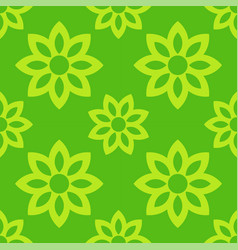 spring flowers seamless pattern vector image vector image