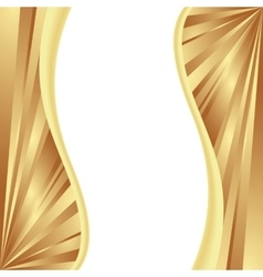 template gold vector image vector image