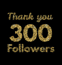 Thank you 400 followerstemplate for social media vector