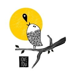 Song about love vector image