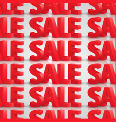 Seamless background sale vector