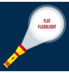 Flashlight or pocket torch vector