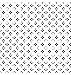 black square diamond seamless on white background vector image vector image