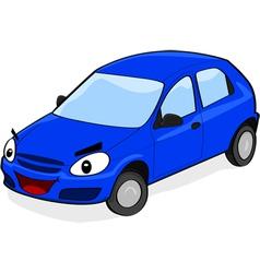 Happy car vector image vector image