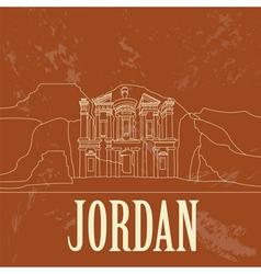 Jordan retro styled image vector