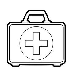 medical briefcase vector image