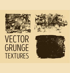 monochrome abstract hand drawn grunge textures vector image vector image