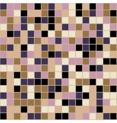 Mosaic tiles texture background vector image vector image