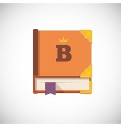 notebook icon vector image vector image