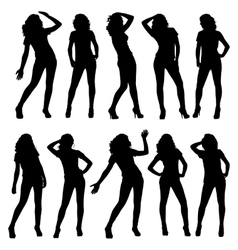 Silhouettes vector