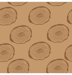 Stump Muzzle Seamless Pattern Background vector image