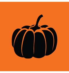 Pumpkin icon vector image