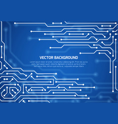 abstract cybernetic background with circuit vector image