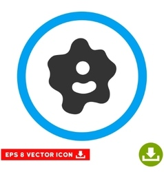 Ameba eps rounded icon vector