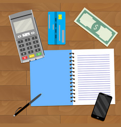 Financial planning business vector