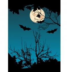 flying bats vector image vector image
