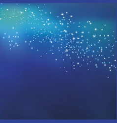 night sky stars concept for background simple vector image vector image