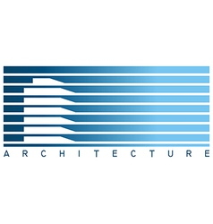 Architecture icon vector image