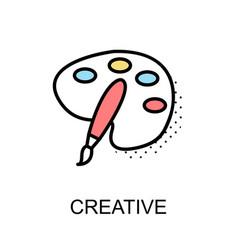 Creative graphic icon vector
