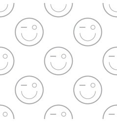 Smiling pattern vector