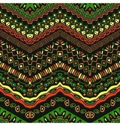African style pattern with tribal motifs vector