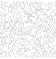 Background pattern with arabesque in spiral vector