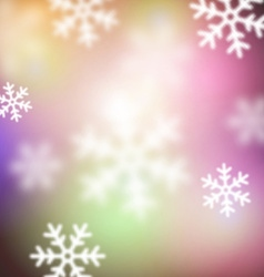 Blurred christmas background vector