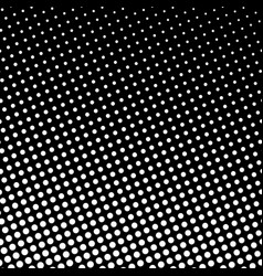 Dots on black background pop art background vector