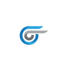 Faster logo template vector