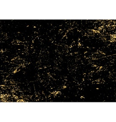 light grunge gold black texture long vector image vector image