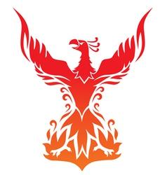 Phoenix2 vector image vector image