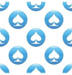 Spades sign pattern vector