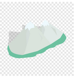 Swiss alps isometric icon vector