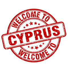Welcome to cyprus vector