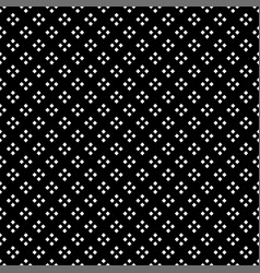 white square diamond seamless on black background vector image vector image