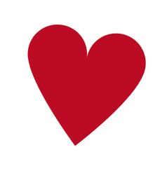casino ace heart poker card icon vector image