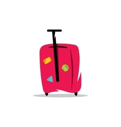 Baggage cartoon vector